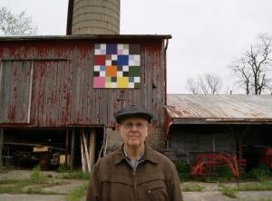 Mr Mitton of Thamesville and Homeward Bound barn quilt